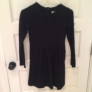 Black long sleeved dress by Primary